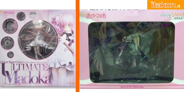 (left false; right original) Box of products placed on the market before the release of the original ones, and usually different than the official