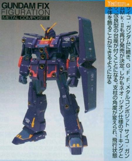 Bandai: Pronta la ristampa del Gundam FIX MRX-010 Psyco MKII