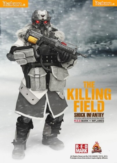 R.E.D.MARK X INFLAMES THE KILLING FIELD - SHOCK INFANTRY (1)