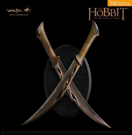 The Hobbit The Desolation of Smaug  Daggers of Tauriel  (1)