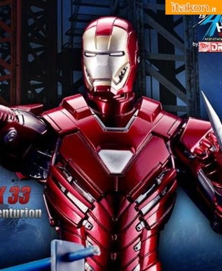 Iron Man 3: Mark.XXXIII Silver Centurion di Dragon Models