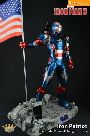 Iron Patriot Power Charger Series - Coming Soon.