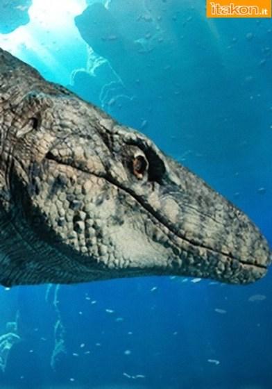 Dinosauria: Mosasaur Statue di Sideshow - Info Preordini
