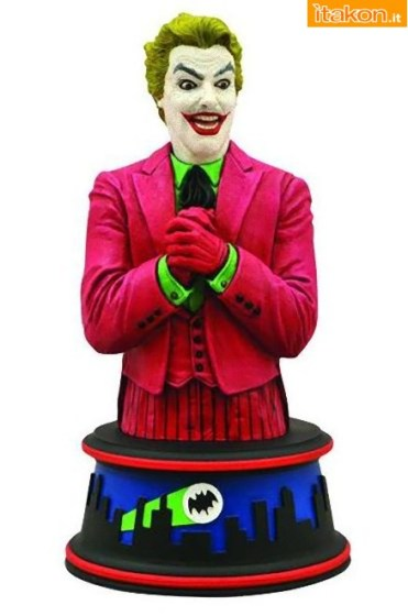 Diamond Select Toys: Joker Bust da Batman Classic 1966 TV
