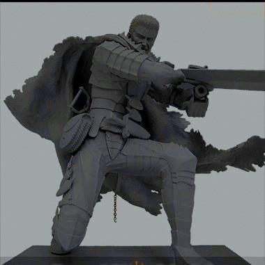 Guts - Art of War - Berserk - Cannon Slice - Annuncio - 2