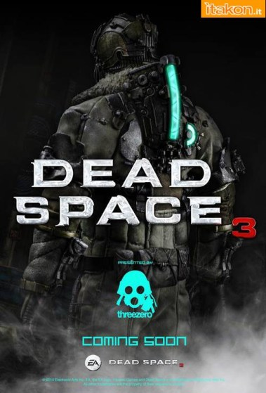 TreeZero:  Isaac Clarke 1/6 figure da Dead Space 3  - Primo Teaser Ufficiale