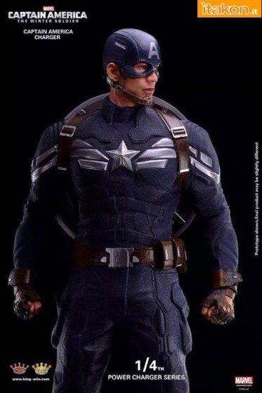 King Arts International: Prima Immagine Ufficiale di Captain America: The Winter Soldier 1/4 statue