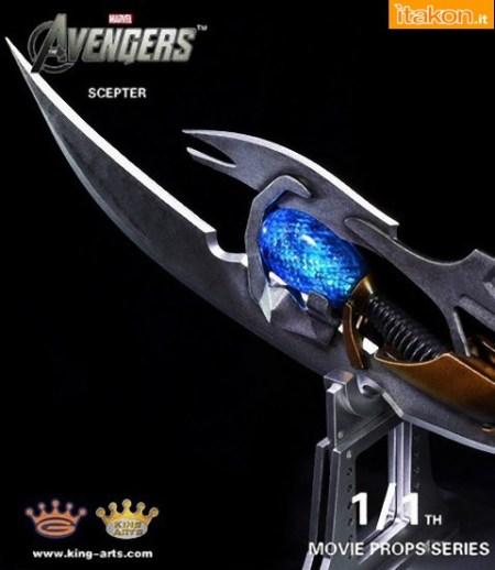King Arts International: Chitauri scepter 1/1 da The Avengers - Immagini Ufficiali e Costo[4]DA REV