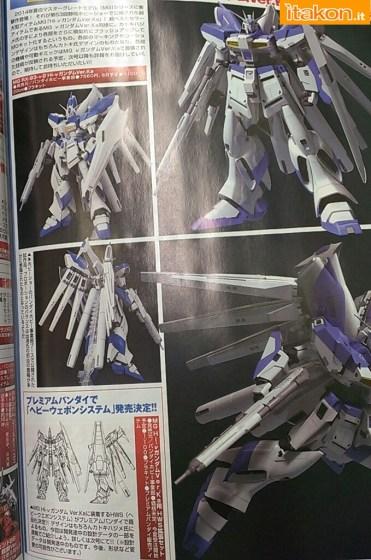 RX-93-ν-2 Hi-ν Gundam MG Model Kit di Bandai