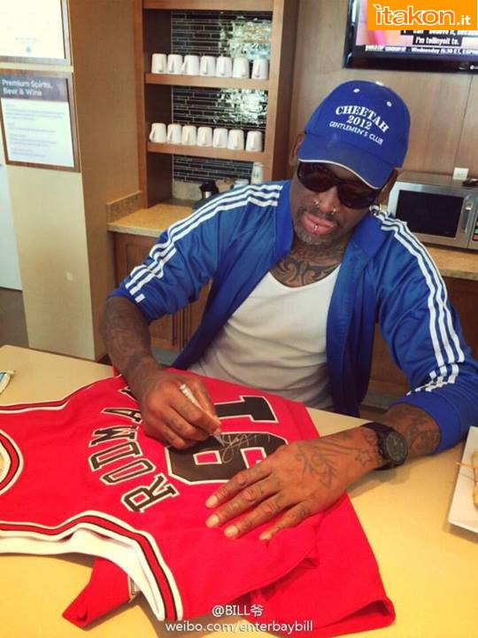 [Enterbay] NBA Legend Series: Dennis Rodman (Chicago Bulls) A28