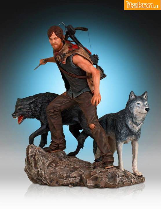[Gentle Giant] TWD: Daryl and the Wolves Exclusive statue A131