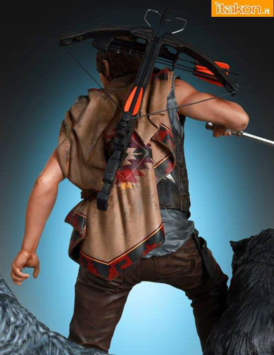 [Gentle Giant] TWD: Daryl and the Wolves Exclusive statue A66