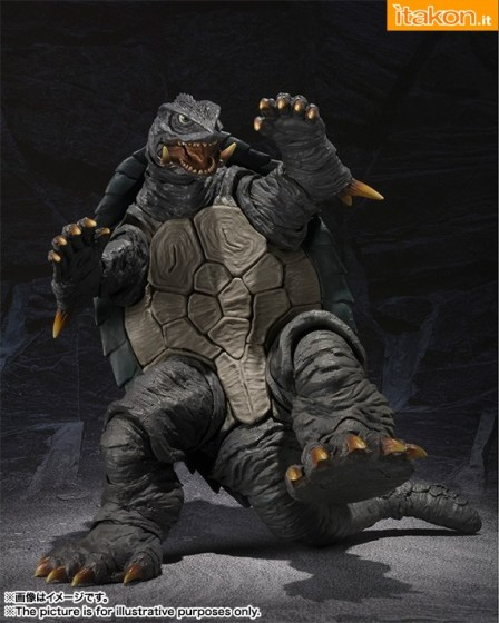 gamera - bandai - monsterarts - preordini - 5