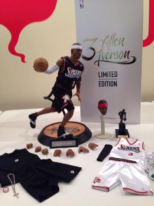 [Enterbay] NBA Legend Series: Allen Iverson (Sixers) | 1/6 scale A52-3