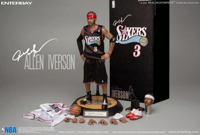 [Enterbay] NBA Legend Series: Allen Iverson (Sixers) | 1/6 scale V86-6