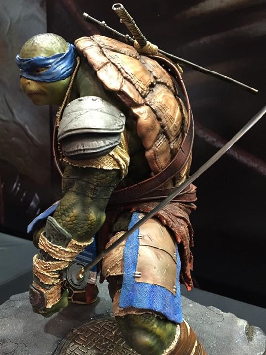 TMNT 2014 - Leonardo 1/4 Statue A216