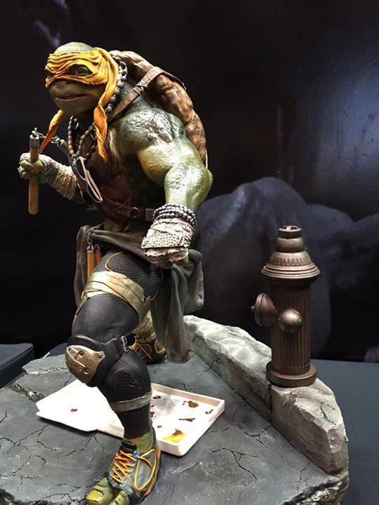 TMNT 2014 - Michelangelo 1/4 Statue A37