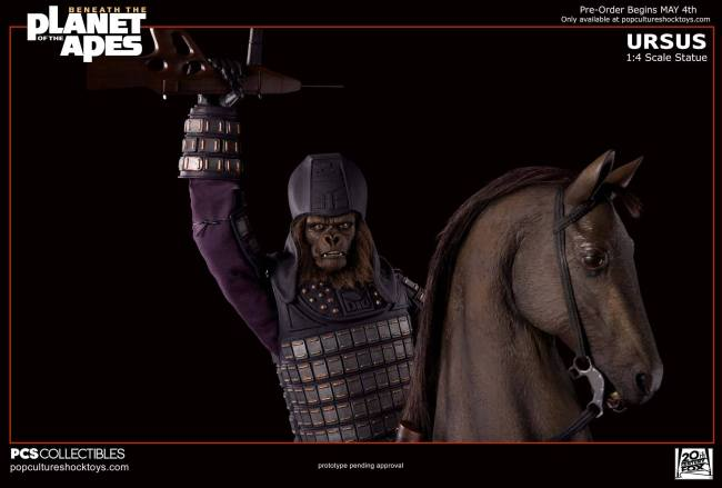 [Pop Culture Shock] Beneath the Planet of the Apes: General Ursus on Steed 1/4 2212