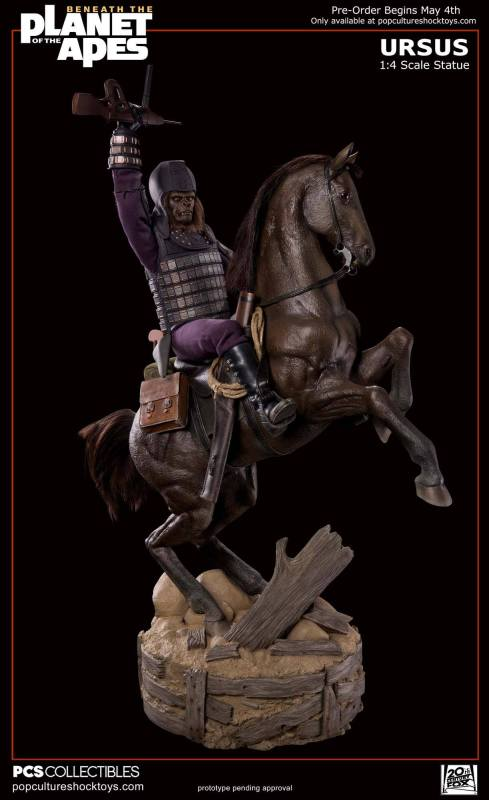 [Pop Culture Shock] Beneath the Planet of the Apes: General Ursus on Steed 1/4 325