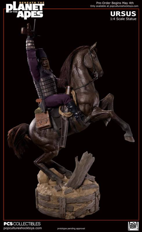 [Pop Culture Shock] Beneath the Planet of the Apes: General Ursus on Steed 1/4 420