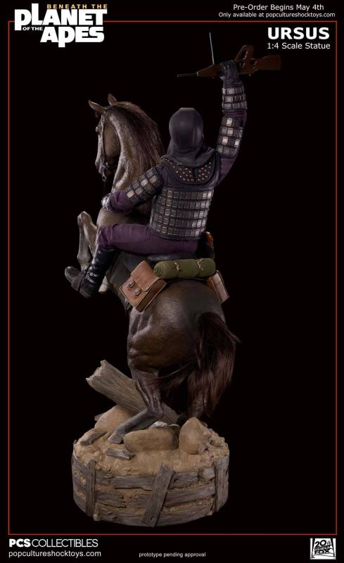 [Pop Culture Shock] Beneath the Planet of the Apes: General Ursus on Steed 1/4 815