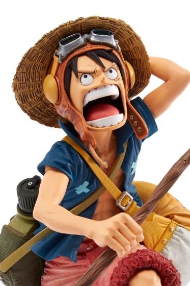 Monkey D. Luffy -  One Piece SCulture BIG Zoukeio 4 Vol.1_evid