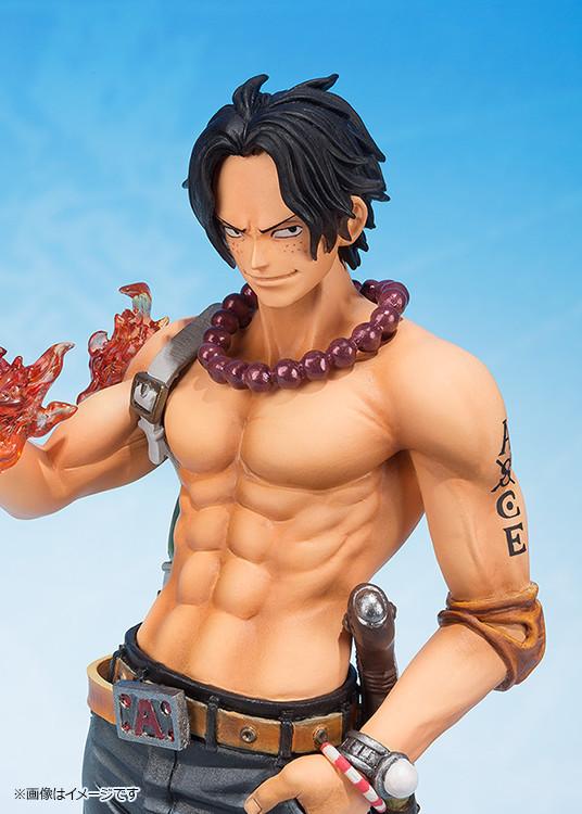 [Bandai] Figuarts ZERO | One Piece - Portgas D. Ace (5th Anniversary ver.) Ace-one-piece-figuarts-zero-bandai-5-ann-ante-3