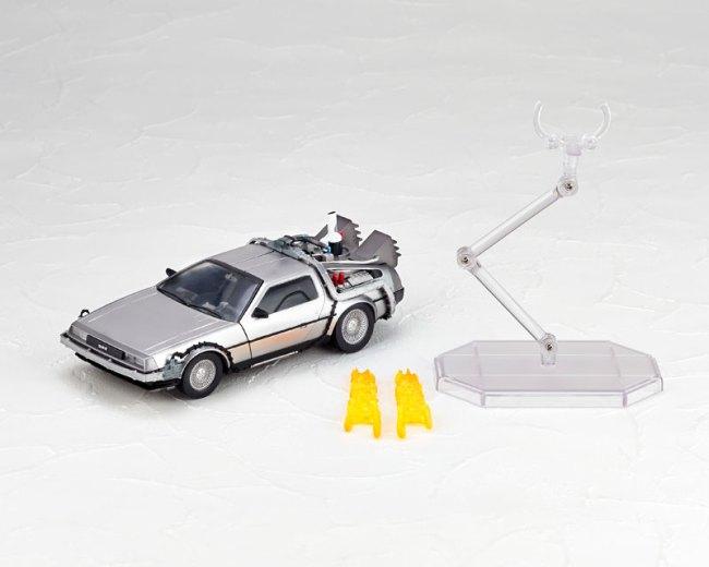 DeLorean Movie REVO - Back to the Future - Kaiyodo preorder 14