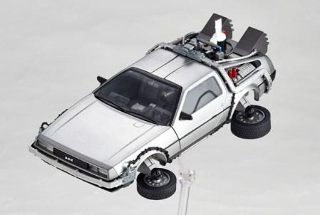 DeLorean Movie REVO - Back to the Future - Kaiyodo preorder 20