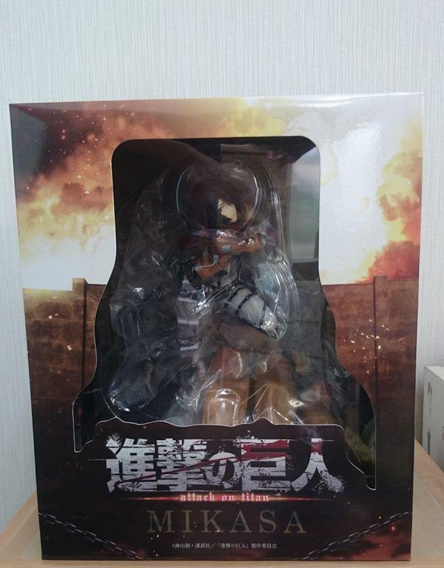 [Pulchra] Shingeki no Kyojin - Mikasa Ackerman - Página 2 Mikasa-Ackerman-Attack-on-Titan-Pulchra-released-01