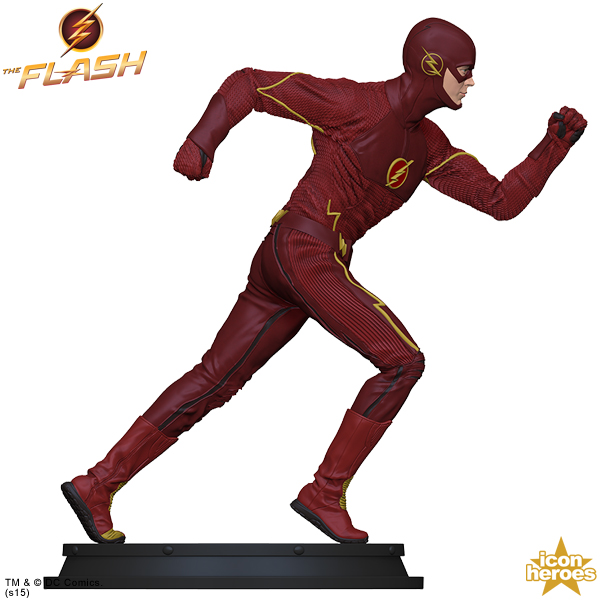 Icon heroes the flash tv series statue paperweight