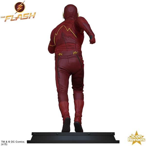 Icon Heroes: The Flash TV Series Statue Paperweight  The-Flash-TV-Series-Statue-Paperweight-003