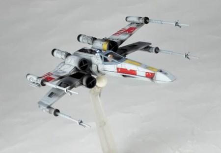 X-Wing Starfighter - Star Wars - Revoltech Kaiyodo pics 20