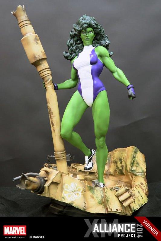 Premium Collectibles : She Hulk - Page 2 XM-Studios-She-Hulk-4