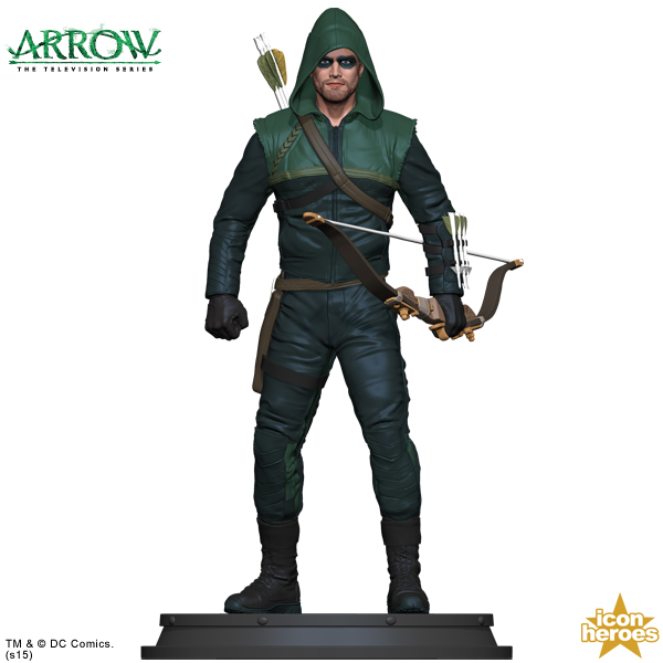 [Icon Heroes] TV Series Statue: Arrow - Season 1 Arrow-TV-Series-Statue-Paperweight-1