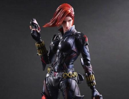 Black Widow Play Arts Kai Variant evd