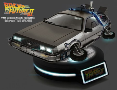 Magnetic Floating DeLorean Time Machine - Back to the Future - Kids Logic preorder 20