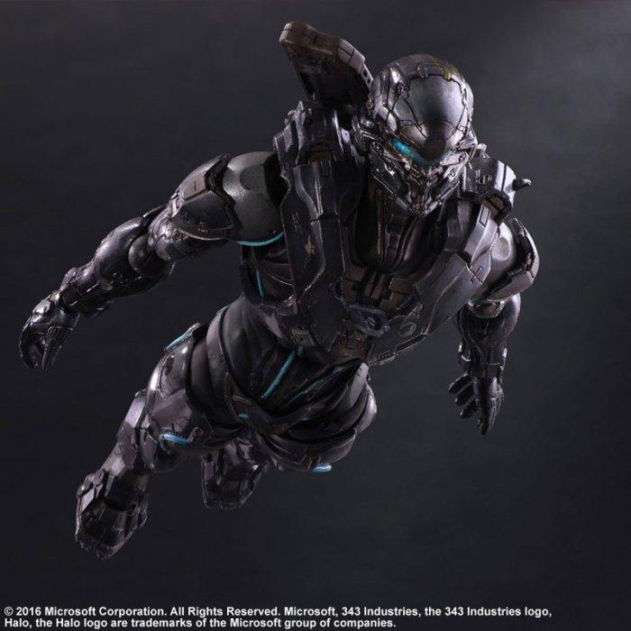 Halo 5 Guardians Spartan Locke - Play Arts Kai Square Enix pre 06