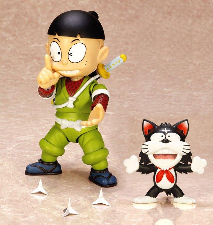 Kemuzou Kemumaki & Kagechiyo - Ninja Hattori-kun - Art Storm Fewture pre 01