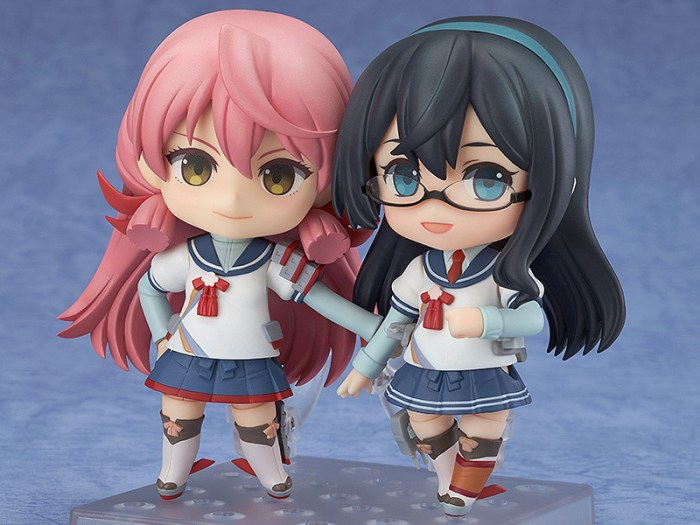 Akashi Kai e Ooyodo Nendoroid (venduti separatamente)