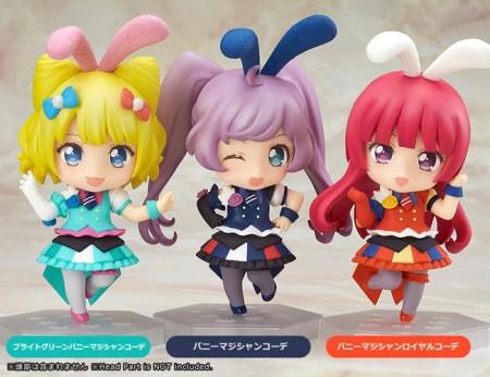 Nendoroid Co-de Dress Up Bunny Magician PriPara GSC Wonder Excl pics 20