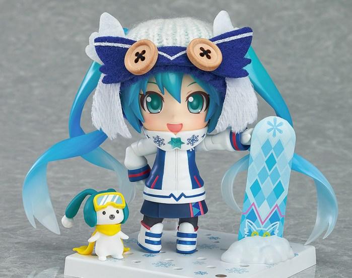 Nendoroid Snow Miku Snow Owl - GSC Wonder Excl pics 01