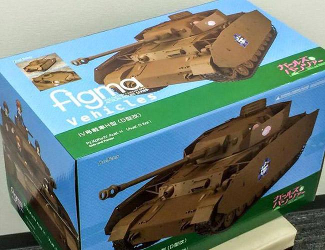 figma Veichles Panzer IV Ausf D H-Spec WF Excl Max Factory pics 20
