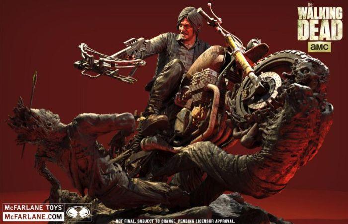 Daryl-Dixon-Motorcycle-Statue