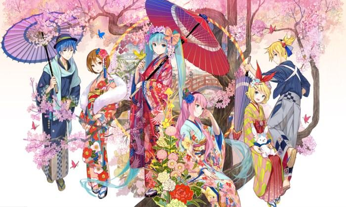 Maiko & Kaito Hanairogoromo - Vocaloid - Stronger annuncio 04
