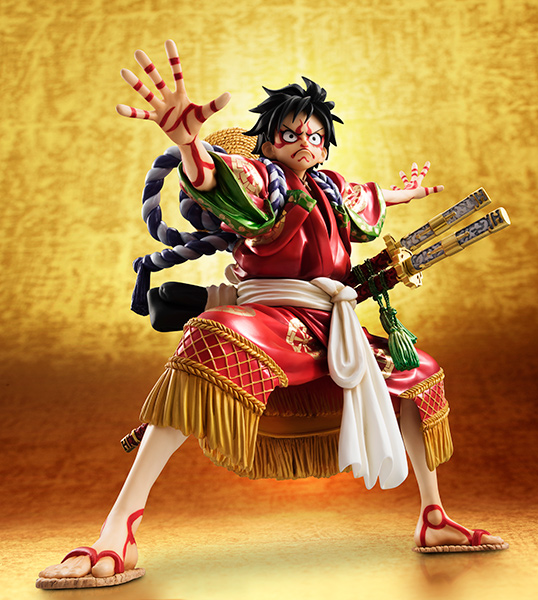 Monkey D Luffy Kabuki POP - One Piece MegaHouse pre 05