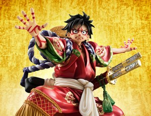 Monkey D Luffy Kabuki POP - One Piece MegaHouse pre 20
