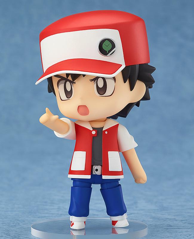 Nendoroid Pokémon Trainer Red & Green GSC pre 02