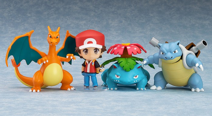Nendoroid Pokemon Trainer Red Champion Ver GSC pre 01