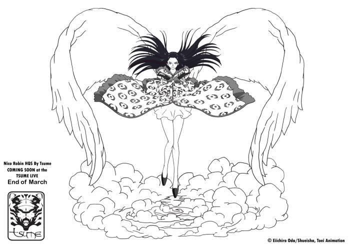 Artwork ufficiale Nico Robin HQS